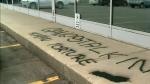 Vandals target Regina media outlets