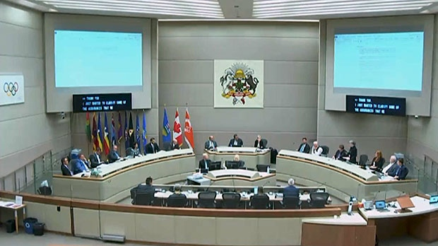 Calgary city council voted in favour of continuing with the Olympic bid process on Tuesday, September 11, 2018.