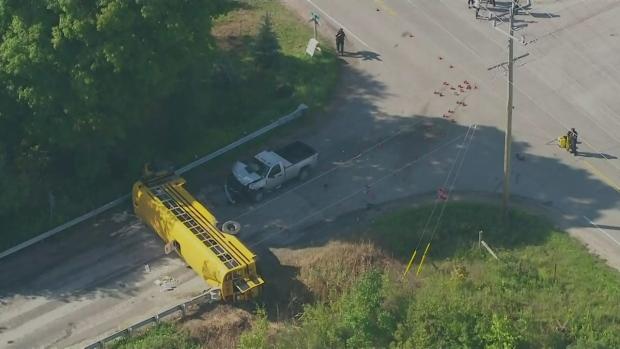 Extended: Innisfil bus crash   CTV News Barrie