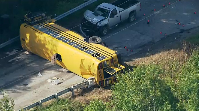 School bus crash in Innisfil