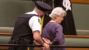 Protesters arrested at Queen's Park