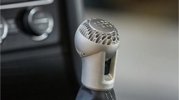 3D-printed gear knob