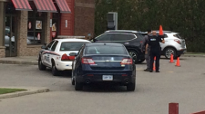Shooting investigation at a London Ont Tim Hortons