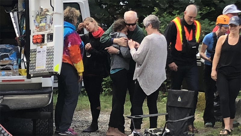 Two young women who went missing during a hike near Lions Bay, B.C. on Tuesday have been found safe. (Shannon Paterson)