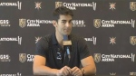 Max Pacioretty speaking as a Vegas Golden Knight