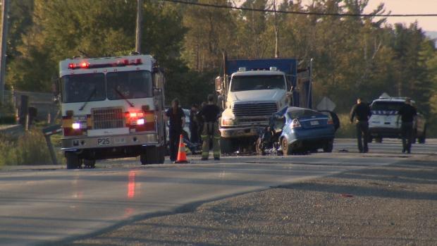 Fatal crash on Moodie