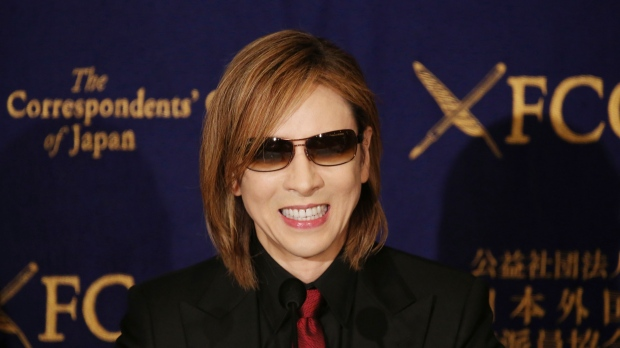 Japanese rock star Yoshiki