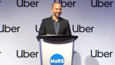 Uber's Chief Executive Officer Dara Khrosrowshahi