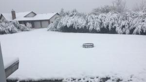 Slave Lake snow