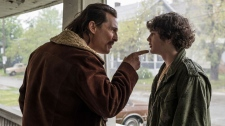 McConaughey and Merritt in 'White Boy Rick'