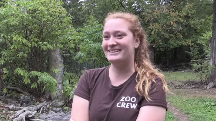"""Everyone perpetuates the stereotype that they spit on people but they don't, and he broke that stereotype for a lot of people,"" said zookeeper Megan Gorey."