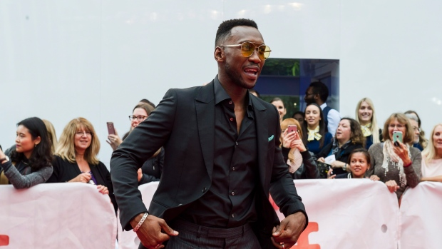 "Actor Mahershala Ali arrives ahead of the screening of ""Green Book"" during the Toronto International Film Festival in Toronto, on Tuesday, September 11, 2018. THE CANADIAN PRESS/Christopher Katsarov."