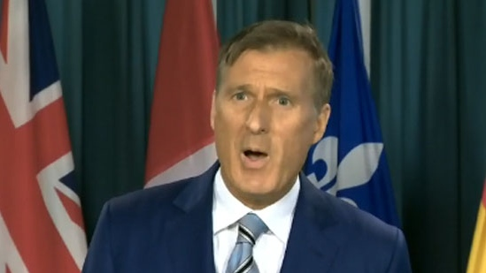 Maxime Bernier loses his seat in Beauce, says party will fight on