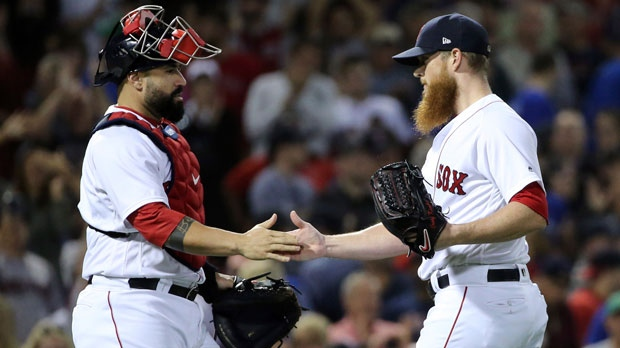 Boston Red Sox closer Craig Kimbrel