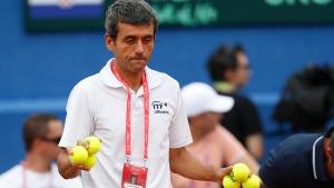 Tennis umpire Carlos Ramos