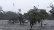 High winds and storm surge from Hurricane Florence