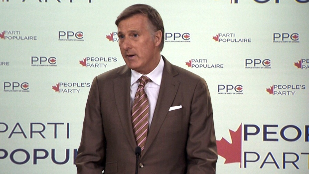 MP Maxime Bernier makes announcement