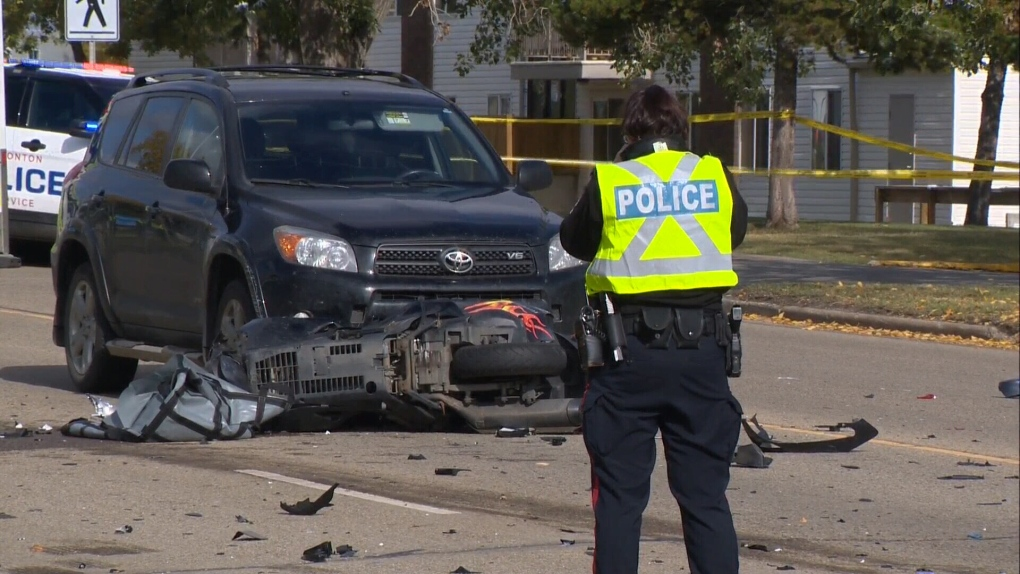 One dead in motorcycle crash | CTV News