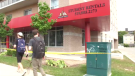 A male student was found dead outside a Wilfrid Laurier residence in Waterloo. (Sept. 14, 2018)