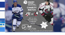 Charity hockey game in Timmins