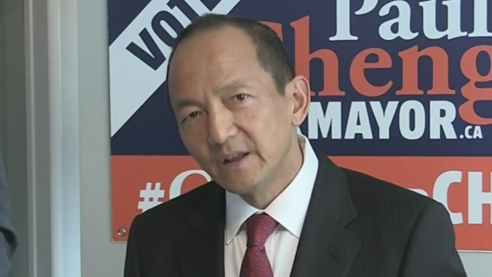 Mayoral candidate Paul Cheng unveils his campaign