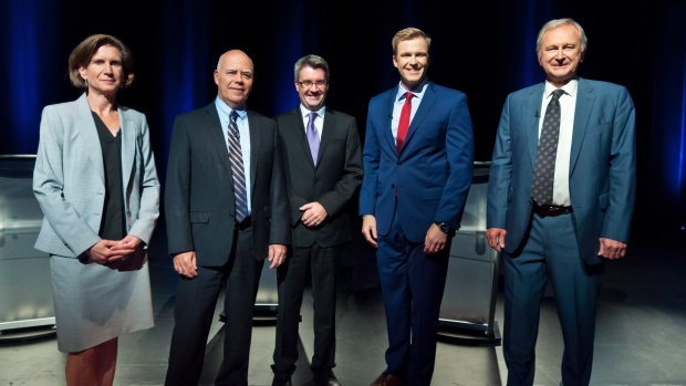 New Brunswick political party leaders