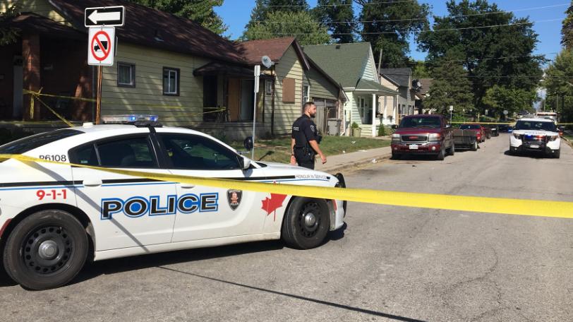 Windsor stabbing on Sept. 15, 2018 (Ricardo Veneza)