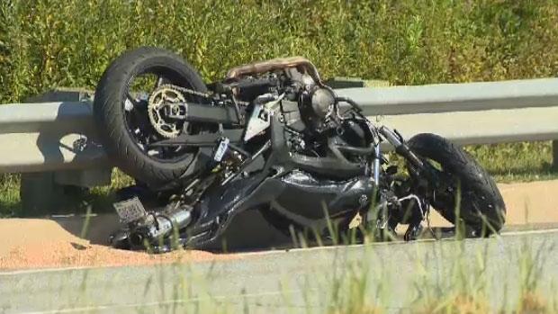 Halifax police probe serious motorcycle crash | CTV News Atlantic