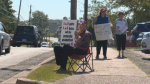 A protest was held in Truro Saturday, in support of a sexual assault victim that claims she was turned away from a Nova Scotia hospital.