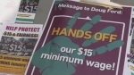 Ontarians rally for $15 minimum wage