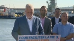 Couillard and Legault again sparred over differences in immigration policy