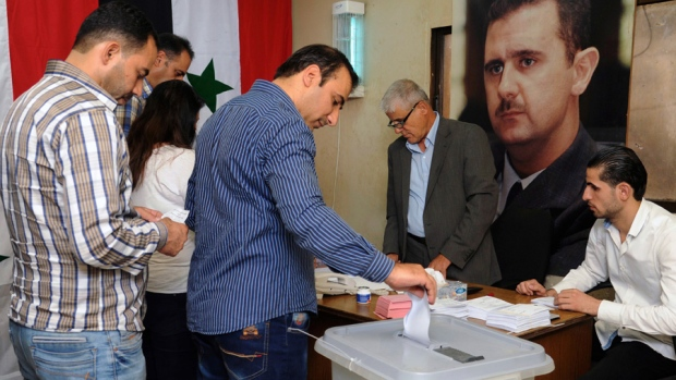 Syria municipal elections