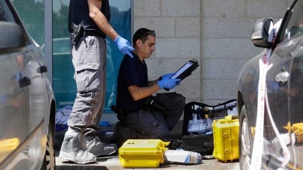 Palestinian west bank stabbing