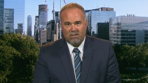 Ontario Government House Leader Todd Smith on CTV's Question Period on Sunday September 16, 2018. (CTV News)