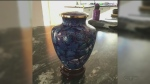 Urn containing ashes of baby stolen
