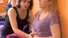 Julie Tupler teaches Shelley Kath