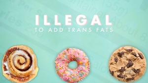 Health Canada's ban on trans fats comes into effec