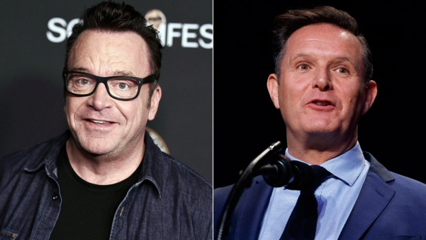 Tom Arnold says Mark Burnett choked him at Emmy party