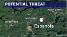 Potential threat in Espanola