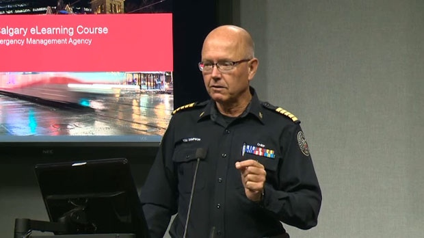 Tom Sampson, Chief of Calgary Emergency Managemen