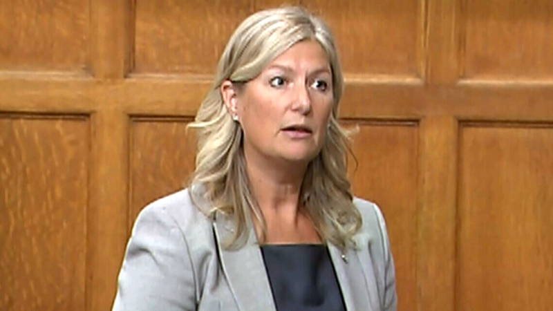 Ontario MP Leona Alleslev ditches Liberals, crosses floor to Tories
