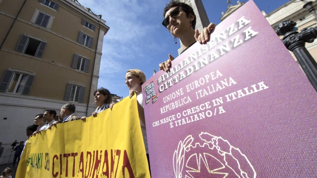 Protest in Italy