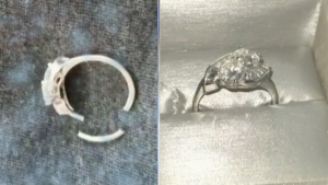Ring breaks four days after getting it back from Peoples Jewellers