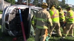 Crash reenactment shows effect of impaired driving