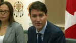 Leaked video shows Trudeau 'upset' at meeting