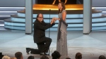 A surprise proposal at the 2018 Emmys