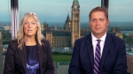 Aurora-Oak Ridges-Richmond Hill MP Leona Alleslev and Conservative Leader Andrew Scheer appear on CTV's Your Morning on Tuesday, Sept. 18, 2018.