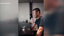 Tea served in the most epic way possible