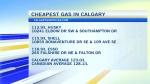 calgary gas prices