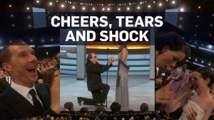 Surprise marriage proposal at 70th Emmy Awards